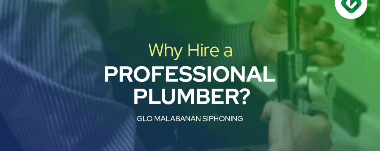 Why Hire a Professional Plumber?