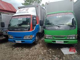 siphoning services malabanan green and blue truck